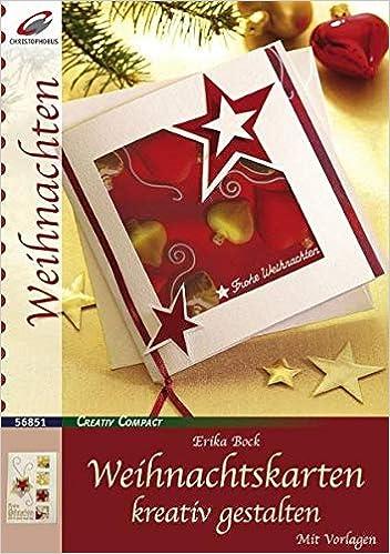 Foto Weihnachtskarten Gestalten.Weihnachtskarten Kreativ Gestalten Creativ Compact Amazon De