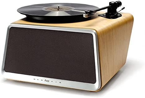 Superior de vinilo Tocadiscos, hym Seed All-in-One Tocadiscos ...
