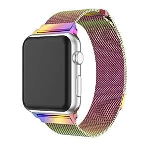 Amazon.com : YaSpark Apple Watch Band 38mm/42mm, Milanese