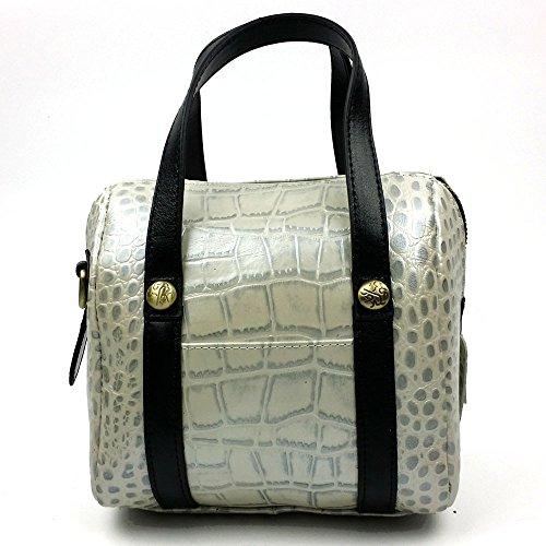LongBao la nueva bolsa de dama de cuero _ elegante cuero dama bolsa de hombro manual femenino es una marea gentlewoman ,8219 Golden Plata 8219