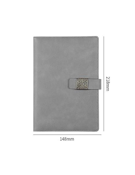 ZXSH Cuaderno Cuaderno De Cuero Agenda A5 Planificador Funda ...