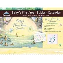Baby's First Year Sticker Calendar