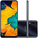 Smartphone Samsung Galaxy A30, 64Gb, Tela 6.4'', Preto, Sm-A305Gzkbzto