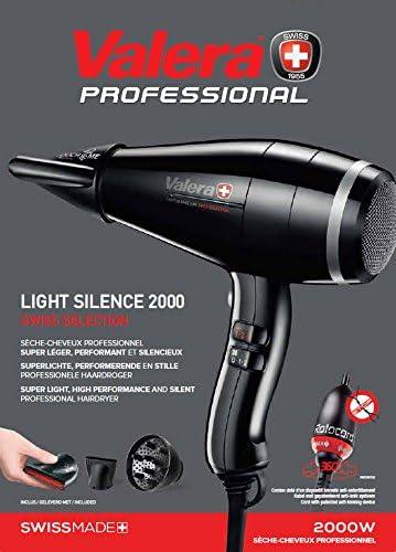 VALERA Light Silent le Sèche Cheveux le Plus LégerSilencieux de Marque Suisse 2000W