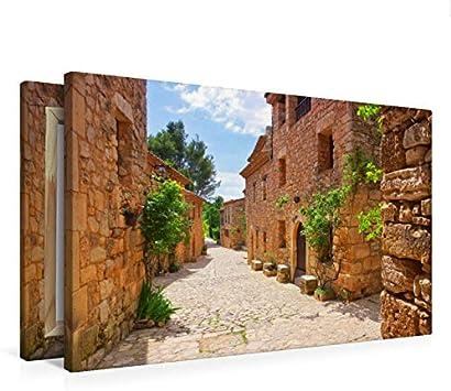 Premium Siurana - Lienzo (75 cm x 50 cm, horizontal): Amazon ...
