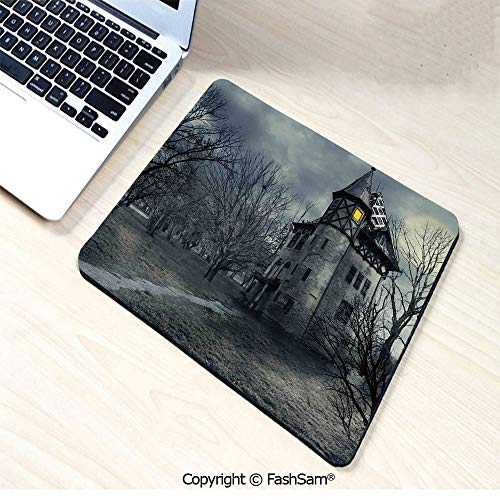 Personalized 3D Mouse Pad Halloween Design with Gothic