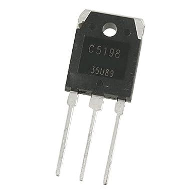 Par A1941 + C5198 10A 200V Amplificador de Potencia transistor del silicio: Amazon.es: Industria, empresas y ciencia