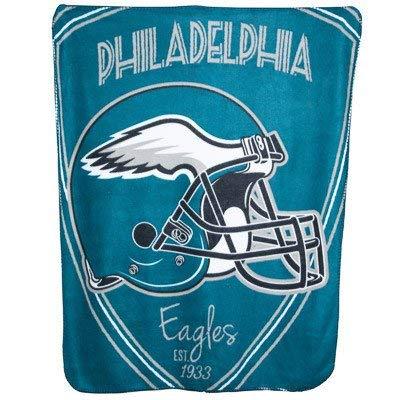 The Northwest Company Team Logo Soft Fleece Throw Blanket, 40 in x 50 in (Philadelphia Eagles)
