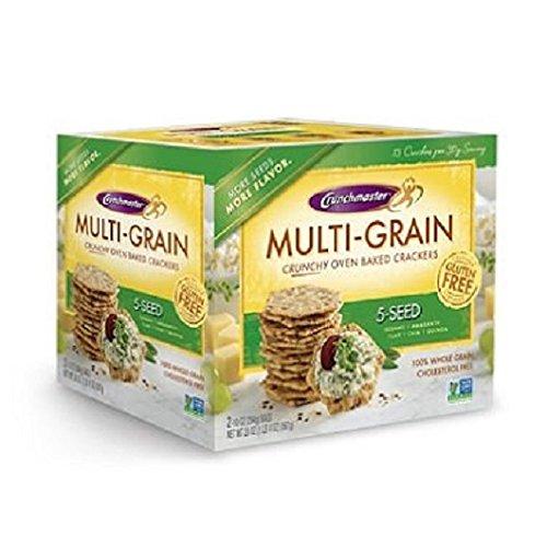 Crunchmaster 5 Seed Multigrain Cracker (10 oz., 2 ct.) by Crunchmaster