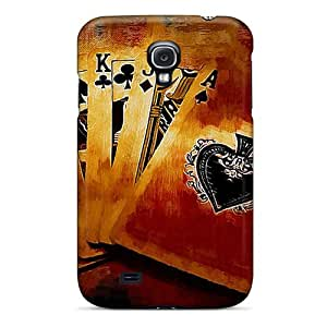 Tpu Protector Snap LRUXXOm970iFBFA Case Cover For Galaxy S4