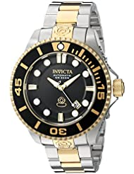 Invicta Mens Pro Diver Stainless Steel Automatic Watch, Color:Two Tone (Model: 19803)