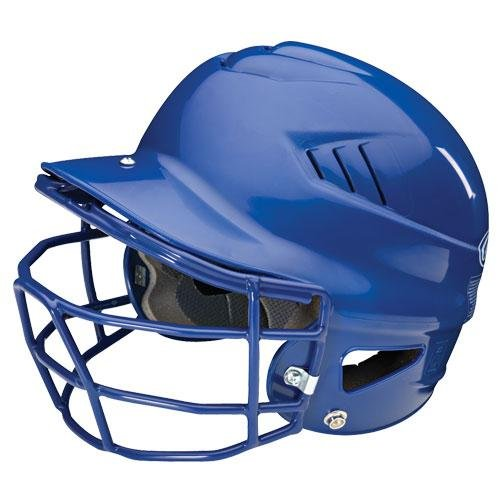 Rawlings Coolflo Batting Helmet with Faceguard (Black ) Cfbh Coolflo Batting Helmet