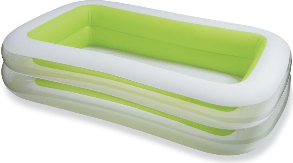 Intex Swim Center Family Inflatable Pool, 103'' X 69'' X 22'', for Ages 6+
