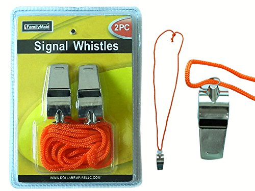 WHISTLES 2 SIGNAL 2X0.75'' , Case of 96