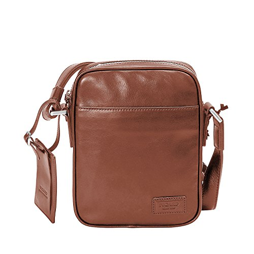 Authentic Marrone Bag Picard Pelle Crossbody vwg4qF