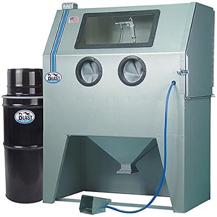 TP Tools USA 2846 Skat Blast Sandblast Sandblasting Cabinet With HEPA Vacuum,  46u0026quot;W
