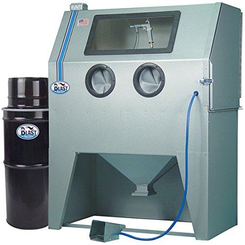 TP Tools USA 2846 Skat Blast Sandblast Cabinet with Vac-50 HEPA Vacuum, Made in USA by Skat Blast