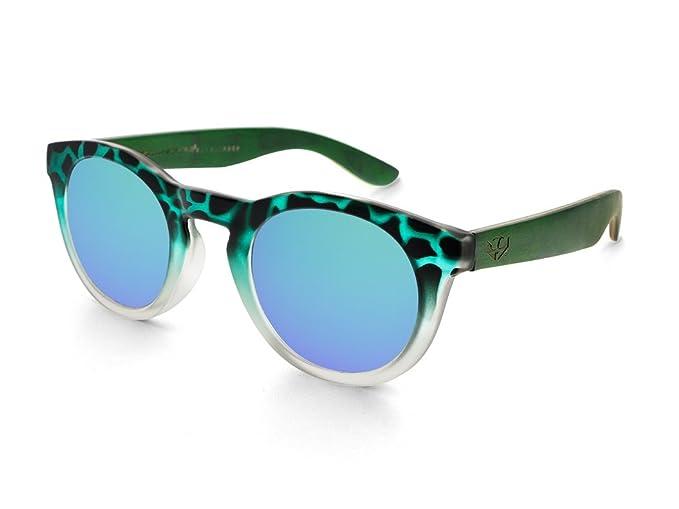 Gafas de sol MOSCA NEGRA ® modelo MIX TURTLE Green - Polarized - Woodsunglasses