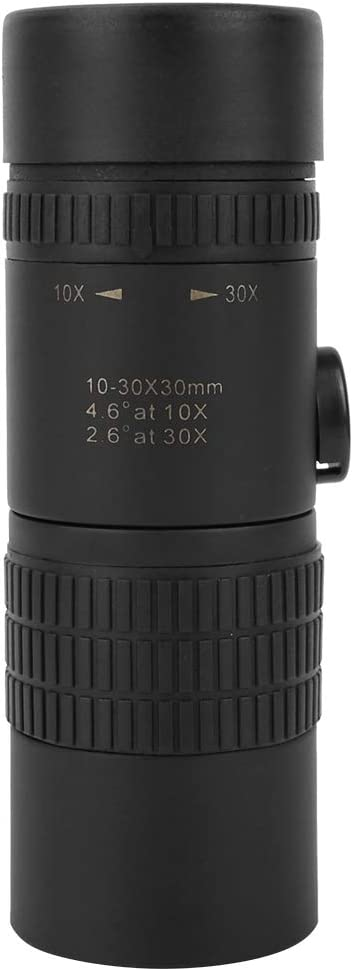 10-30 X 30 Monocular Prism Dual Focus High Power Compact Waterproof Telescope Fit Adults for Hiking Hunting Camping Bird Watching Best Gifts for Men Monoculars Spotting Scopes Toy for Kids