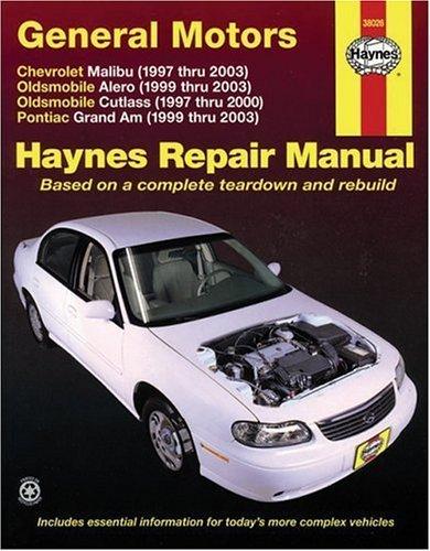 Pontiac Grand Am Repair (General Motors: Chevrolet Malibu (1997 thru 2003) Oldsmobile Alero (1999 thru 2003) Oldsmobile Cutlass (1997-2000) Pontiac Grand Am (1999 thru 2003) (Haynes Repair Manual) 1st (first) by Storer, Jay (2005) Paperback)