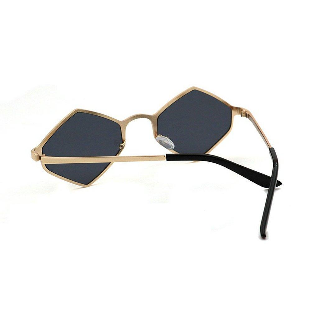 84e952b14 Amazon.com: MINCL/Fashion Vintage Square Sunglasses Womens Mens 2018 Hot  Sale Small Frame Glasses UV400 (black): Clothing