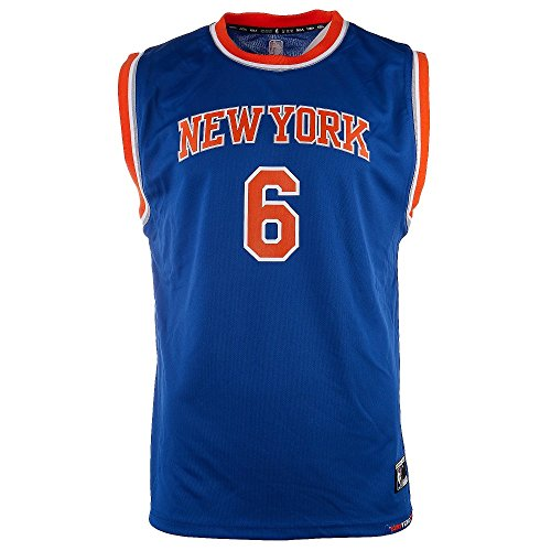 NBA New York Knicks Kristaps Porzingis Youth Boys Replica Player Road Jersey, Medium (10-12), (Replica Nba Jersey)