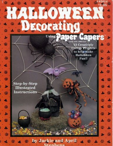 Halloween Decorating Using Paper Capers (#85014)]()