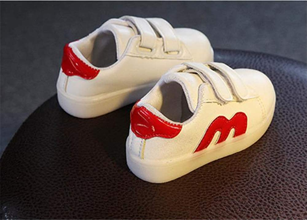 Super color Cute Kids Boys Girls Breathable LED Luminous Light up Shoes Flashing Non-Slip Sneakers