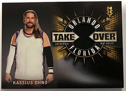 2018 Topps Road to WrestleMania NXT TakeOver Orlando Mat Relics #MR-KO Kassius Ohno NM-MT MEM /199 from Road to WrestleMania