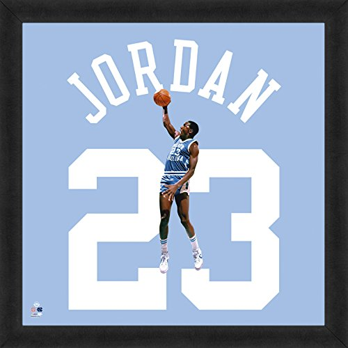 "Michael Jordan North Carolina Jersey (NCAA North Carolina Tar Heels Michael Jordan 20"" x 20"" Player Uniframe)"