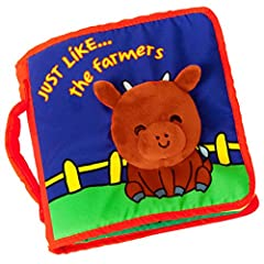 'Makes a perfect baby shower gift as it is fun and adventurous, and prepares your baby to do well in school!' 'Just like... the Farmers' provides endless hours of fun and learning for your little one. Designed by reading development experts, ...