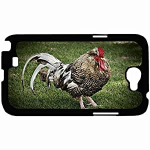 New Style Customized Back Cover Case For Samsung Galaxy Note 2 Hardshell Case, Back Cover Design Bird Personalized Unique Case For Samsung Note 2 wangjiang maoyi