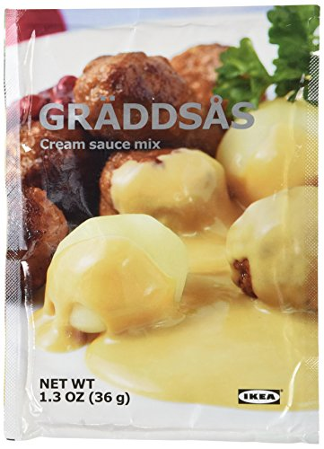 Price comparison product image 10 x 1.3oz IKEA Swedish Meatball Cream Creme Sauce Gravy Mix Graddsas - 10 Packets per order