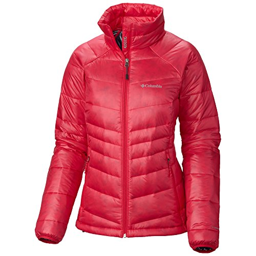 Women's Gold 650 TurboDown RDL Down Jacket Ruby Red-639 - Champaign Outlet