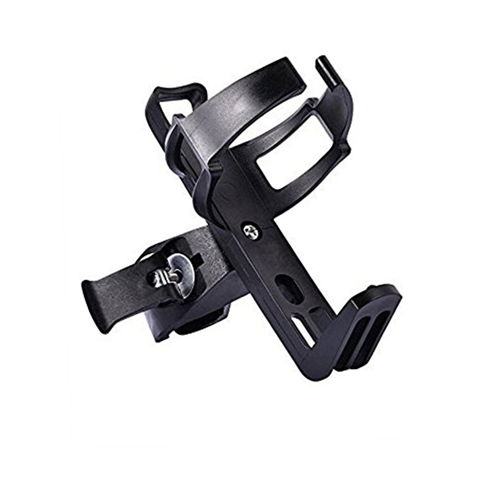 Bike Water Bottle Cage - Bike Water Bottle Holder No Screws All-Steel Materials Plastic Water Bottle Cage for Road Mountain Bicycle Cycling Biking