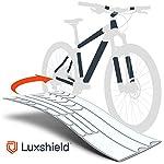 514XrnfZRCL. SS150 Luxshield Bike Vernice Film Protettivo per Mountain Bike, BMX, Bici da Corsa, Bici da Trekking ECC. - Telaio da 21 Pezzi…