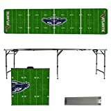 NCAA Florida Atlantic University FAU Owls Football Field Version 8 Foot Folding Tailgate Table