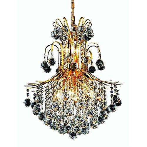 2D22G/RC Royal Cut Clear Crystal Toureg 11-Light, Two-Tier Crystal Chandelier, 22