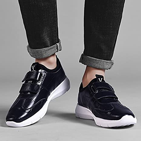 GUNAINDMX Men's shoes/Spring and Autumn/shoes/sports/leisure, 38,8750 shoes black