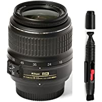 Nikon 18-55mm f/3.5-5.6G ED II Auto Focus-S DX (White Box) + Deluxe Lens Cleaning Pen