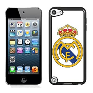 Personalized Ipod Touch 5 Case,Easy Use Ipod 5th Case Design with Real Madrid 4 Cell Phone Case for Ipod Touch 5 5th Generation in Black