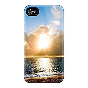 Richavans PBhtiFF1133elmFM Protective Case For Iphone 4/4s(corsican Beach)