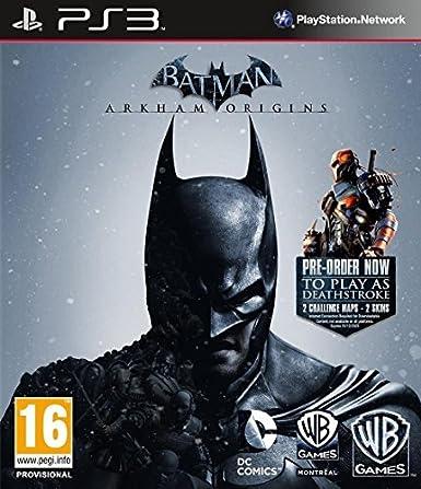 Batman: Arkham Origins including Deathstroke DLC and Knightfall ...