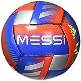 Adidas Messi Planeador Balón de fútbol Azul/Rojo/Plateado metálico, 3