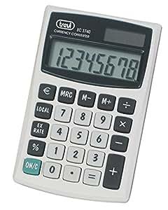 Trevi EC 3740 Bolsillo - Calculadora (Bolsillo, Calculadora financiera, 8 dígitos, 1 líneas, Batería/Solar, Blanco)