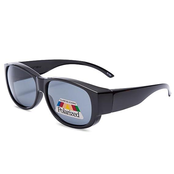 EYEGUARD Fit Over Prescription Glasses Women Oversized Fashion Polarized  Sunglasses ba4a69b33