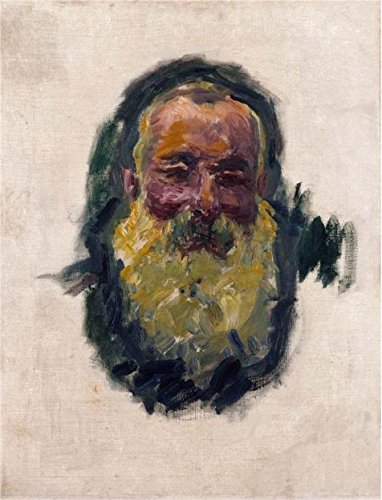 - Oil Painting 'Self-Portrait, 1917 By Claude Monet' Printing On Perfect Effect Canvas , 30x39 Inch / 76x100 Cm ,the Best Living Room Decoration And Home Artwork And Gifts Is This High Quality Art Decorative Prints On Canvas