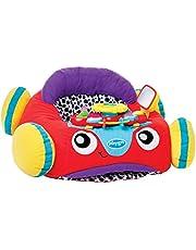 Suave y cómodo coche de peluche para jugar a conducir, Con controlador interactivo