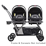 Joovy Twin Roo+ Car Seat Adapter, Graco Snugride Click Connect