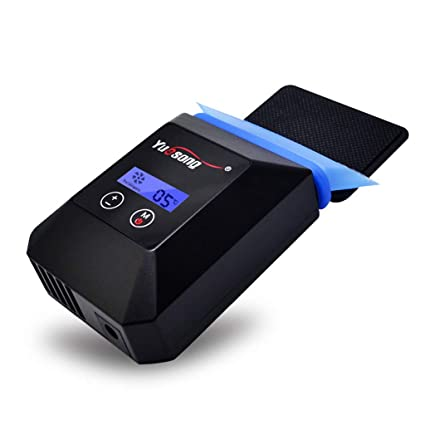 TGDY Exhibición llevada USB silenciosa del Ventilador de enfriamiento del Ordenador portátil, refrigerador estupendo de